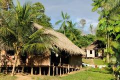 De Indische stammen van Amazonië in Colombia Royalty-vrije Stock Foto