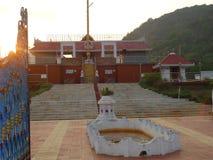 De Indische Tempel sluit zeer breuk Stock Fotografie