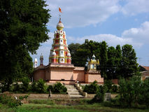 De Indische Tempel van het Dorp royalty-vrije stock afbeelding