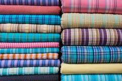 De Indische Textiel van de Stof voor Verkoop Royalty-vrije Stock Afbeelding