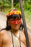 De Indische vrouw van Amazonië Stock Foto