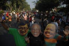 DE INDONESISCHE CONTROVERSE VAN DE CORRUPTIEoorlog stock afbeelding