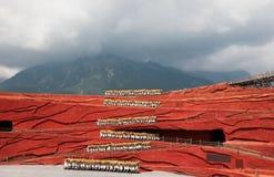 De indruk van Lijiang Stock Afbeeldingen