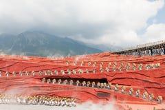 De indruk van Lijiang Royalty-vrije Stock Foto