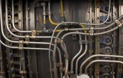 De industriële achtergrond van het metaal royalty-vrije stock afbeelding