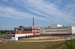 De industriële bouw. Royalty-vrije Stock Afbeelding