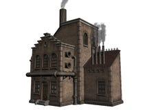 De industriële bouw vector illustratie