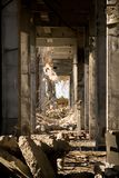 De industriële bouw Royalty-vrije Stock Foto