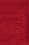 De industriële elektronische achtergrond van technologie Stock Foto's