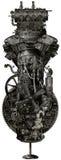 De Industriële Geïsoleerde Machine van Steampunkgrunge royalty-vrije illustratie