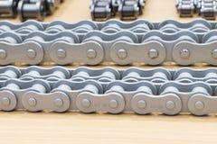 De industriële kettingen voor machine Royalty-vrije Stock Foto's