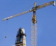 De industriële plaats van de bouw stock fotografie