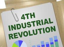 4de Industriële revolutieconcept Royalty-vrije Stock Foto