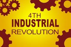 4de Industriële revolutieconcept Stock Afbeelding