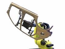 De industriële robot Royalty-vrije Stock Foto's