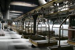 De industriële scène van de fabriek royalty-vrije stock afbeelding