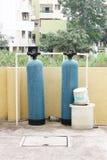 De industriële zuiveringsinstallatie van de waterfilter Royalty-vrije Stock Foto