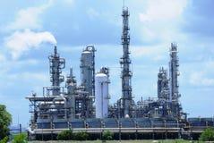 De industrieën van de olie en van het gas Stock Afbeeldingen
