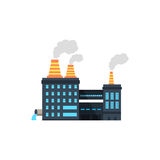 De industrie manufactory de bouwpictogram vector illustratie