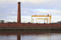 De industrie van Belfast Stock Afbeeldingen