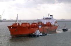 De industrie van Chevical - chemische tanker Royalty-vrije Stock Foto's