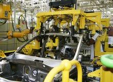 De industrie van de auto Royalty-vrije Stock Afbeeldingen