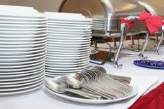 De industrie van de catering Stock Foto