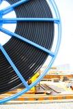 De industrie van de kabelspoel Stock Foto's