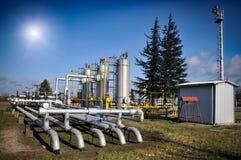 De industrie van de olie Royalty-vrije Stock Afbeelding