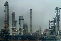 De industrie van de olie Stock Afbeeldingen