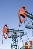 De industrie van de olie Royalty-vrije Stock Afbeeldingen