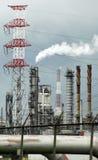 De industrie van de olie in de Haven van Antwerpen, België Royalty-vrije Stock Afbeeldingen