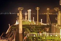 De industrie van de olie en van het gas - de tanker van het LNG Royalty-vrije Stock Foto's