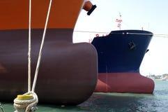De industrie van de olie en van het gas - grude olietanker Stock Foto