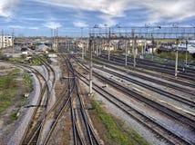 De industrie van de spoorweg Royalty-vrije Stock Foto's