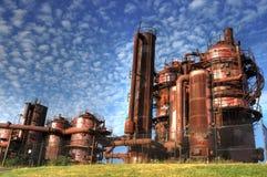 De industrie van het gas Royalty-vrije Stock Fotografie
