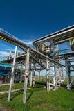 De industrie van het gas. zwavel-verbetering Stock Foto's