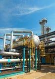 De industrie van het gas. zwavel-verbetering Stock Afbeeldingen