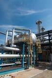 De industrie van het gas. zwavel verbetering royalty-vrije stock foto's