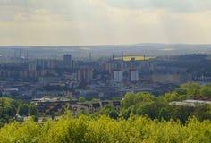De industrie van Ostrava Royalty-vrije Stock Fotografie