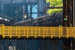 De industriegebied Stock Fotografie
