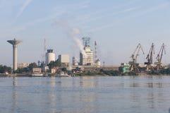 De industriepark in Roemenië Royalty-vrije Stock Foto