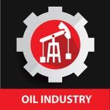 De industriesymbool, Stock Afbeelding