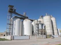 De industriële bouw, fabriek Stock Afbeeldingen