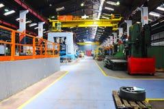 De industy fabriek van het metaal binnen Royalty-vrije Stock Afbeelding
