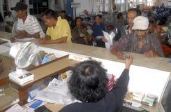 DE INFLATIE FEBRUARI VAN INDONESIË Royalty-vrije Stock Foto