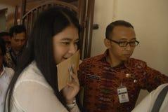 DE INFLATIEgemak VAN INDONESIË Stock Afbeelding