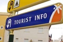 De Informatie van de toerist Stock Fotografie