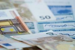 De informatie van Financail stock afbeelding