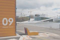 De informatiepunt van Oslo Royalty-vrije Stock Foto's